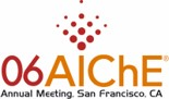 Logo of AIChE 2006 Annual Meeting