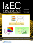 Cover of Industrial & Engineering Chemistry Research