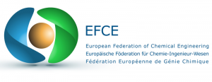 Logo of EFCE, European Federation of Chemical Engineering