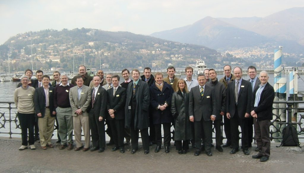 Participants to the CAPE-OPEN meeting in Como, Italy on February 17-18, 2005