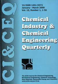 Cover of Chemical Industry & Chemical Engineering Quarterly