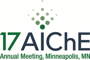 Logo of the AIChE 2017 Annual Meeting, held from October 29 till November 2, 2017 in Minneapolis, MN.