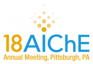 Logo of AIChE 2018 Annual Meeting, Pittsburgh, PA