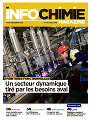 Cover InfoChimie Magazine