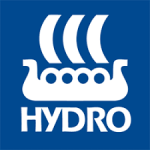Logo of Norsk Hydro as of 2005