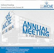 AIChE 2005_Annual_Meeting Proceedings