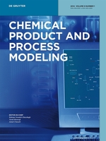 Cover of Chemical Product and Process Modeling