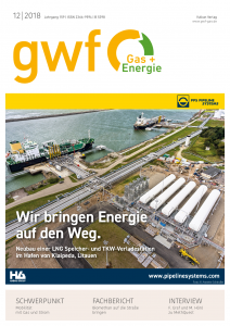 Cover of gwf-gas +Energie_12_2018