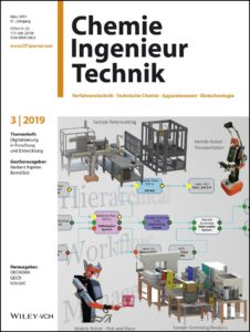 Cover of Chemie Ingenieur Technik, vol. 91, issue 3, March 2019